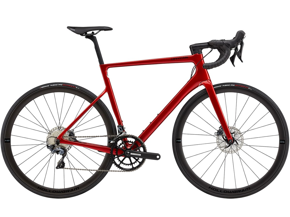CANNONDALE SuperSix EVO Hi-MOD Disc Ultegra candy red 2021